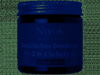 Niyok Deodorant peach UKdistributor Niyok aluminiumfree deodorant eco oriental