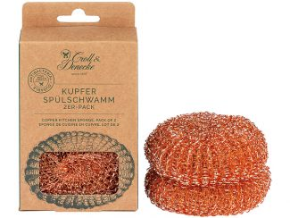 UK Distributor Croll Denecke copper kitchen sponge natural sustainable eco