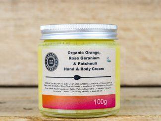 UK distributor Heavenly Organics organic sustainable eco hand body cream