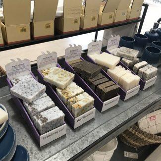UK Distributor BombusLeaf zero waste hand soap body scrub UK made sustainable palmoilfree CDU