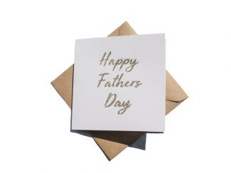 UK distributor Green Planet Paper plantable greeting cards happy fathers day