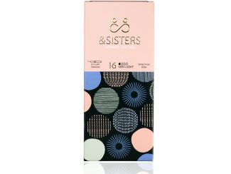 UK distributor &Sisters organic cotton tampons paper packaged zero waste compostable biodegradable tampon applicator very light