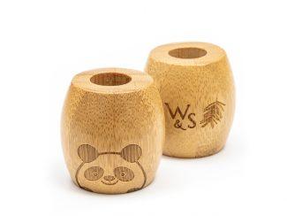 UK distributor Wild Stone Sustainable lifestyle products zero waste Bamboo Toothbrush Stand Children's