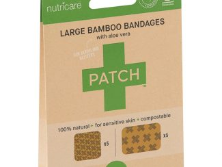 UK Distributor Patch large bamboo bandages bamboo plasters large format compostable sustainable aloe vera