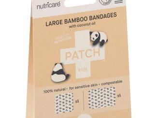 UK Distributor Patch large bamboo bandages bamboo plasters large format compostable sustainable coconut oil kids 4