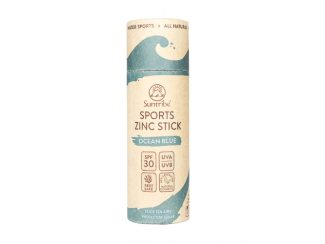 UK distributor suntribe sustainable sunscreen organic plasticfree Zinc Stick SPF30 Ocean Blue