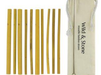 UK distributor Wild Stone Sustainable lifestyle products zero waste bamboo Drinking Straws