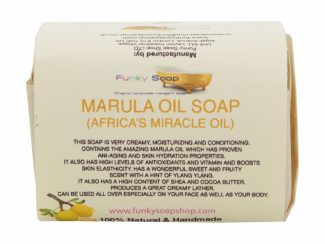 UK distributor FunkysoapShop natural beauty products plasticfree toxinfree marula soap