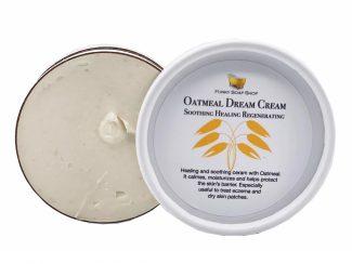 UK distributor FunkysoapShop plasticfree natural Oatmeal Dream Cream eczema