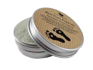 UK distributor FunkysoapShop plasticfree natural footcream