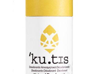 UK distributor eco zero waste products Kutis organic deodorant zero waste bicarbonatefree